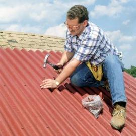 Как отремонтировать крышу дома?