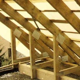 Замена крыши деревянного дома своими руками