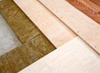 Шумоизоляция деревянного пола