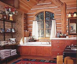 Внутренняя отделка дома в стиле шале