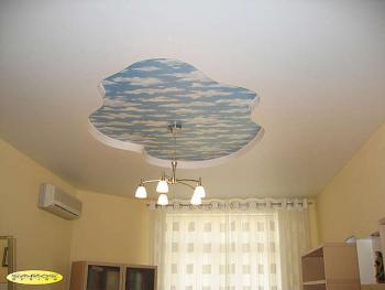 Подвесной потолок в спальнию