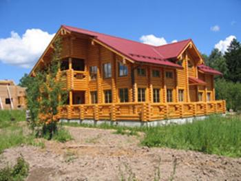 Лучший дом из оцилиндрованного бревна