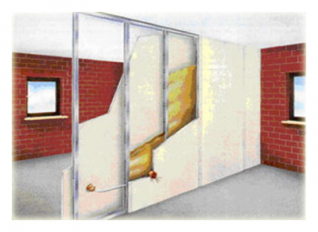 Как прикрепить гипсокартон к кирпичной стене?