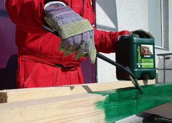 Антисептик для древесины из Чехии