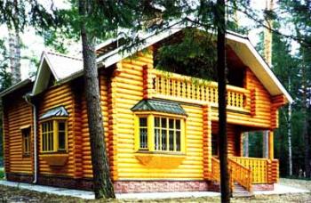 Дом из Оцилиндровки