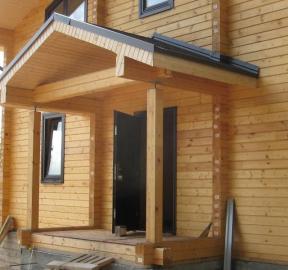 Ремонт дома из бруса