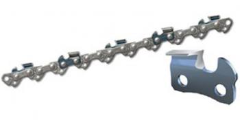 Как правильно заточить цепь для бензопилы?