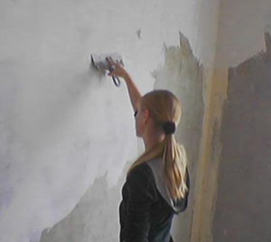 Как шпаклевать стены своими руками под покраску фото 568