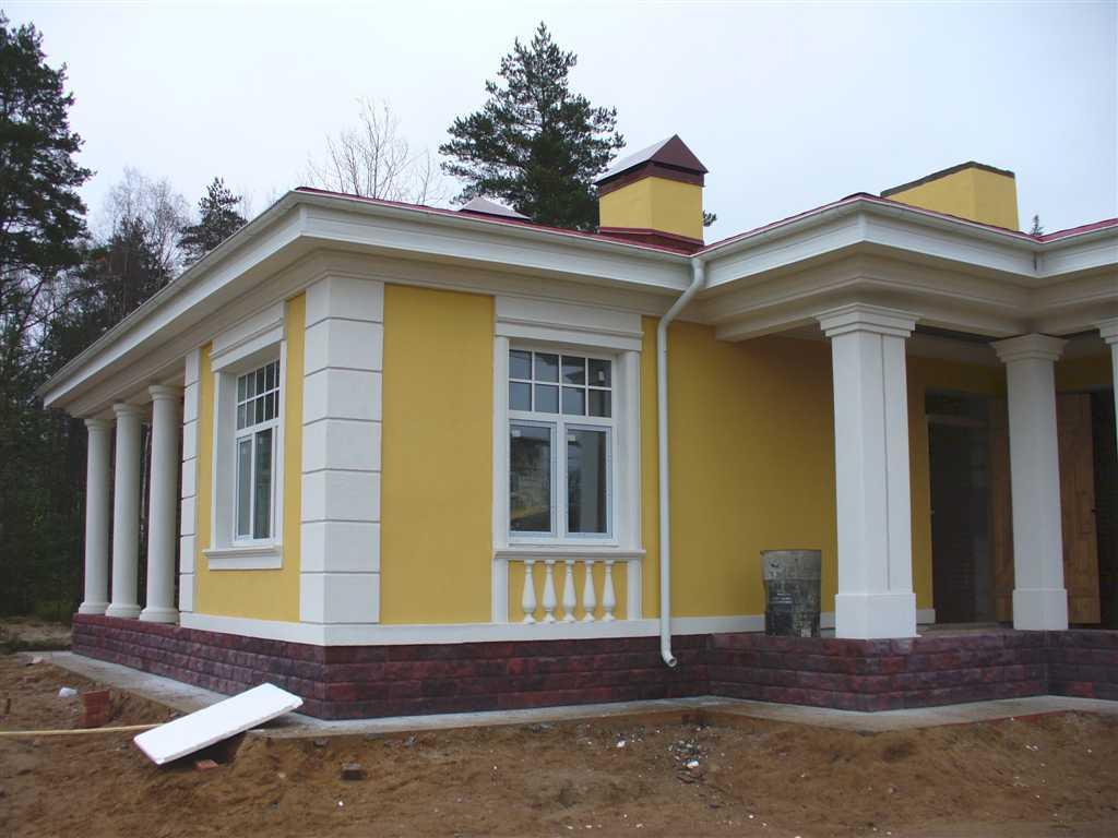 Облицовка домов и коттеджей планкеном