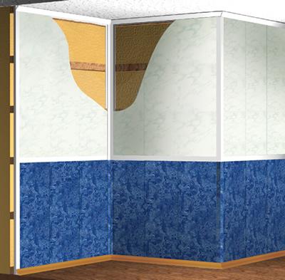 стен пластиком:пластиковые панели